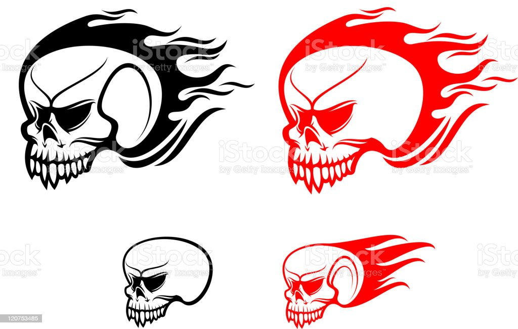 Skull tattoos royalty-free skull tattoos stock vector art & more images of anatomy