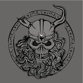 Skull of Viking