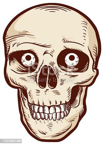istock Skull Vector 1202938188