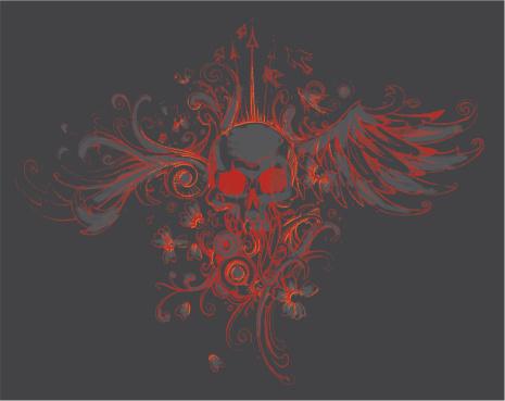 skull winger