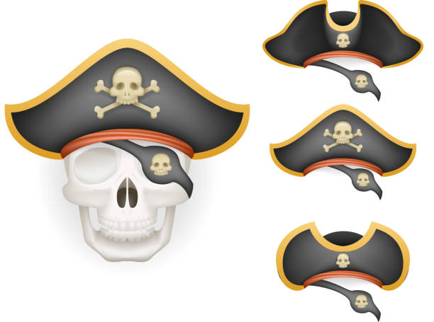 royalty free pirate eye patch template clip art vector images