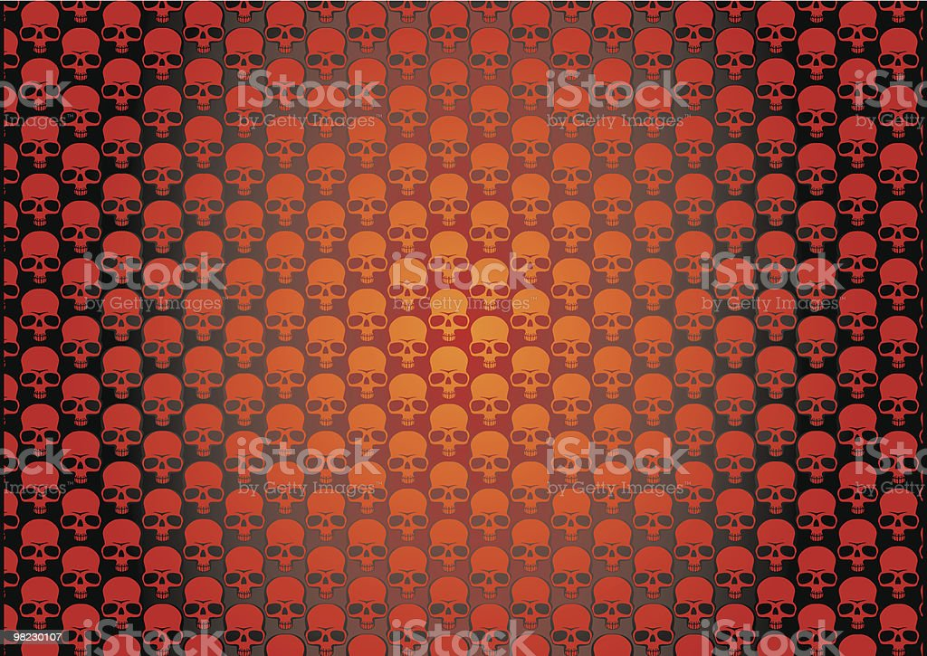 Skullz wallpaper royalty-free skullz wallpaper stock vector art & more images of color image