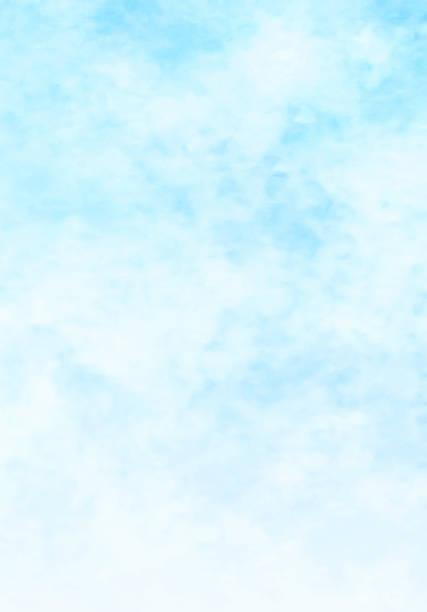 空と雲、抽象的な水彩画の背景 - 空点のイラスト素材/クリップアート素材/マンガ素材/アイコン素材