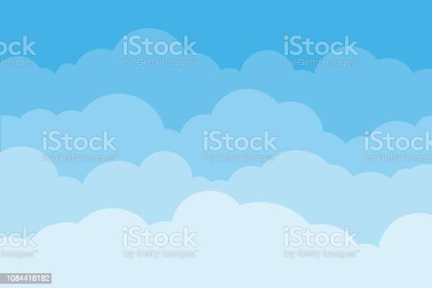 Sky and clouds background sky and cloud with blue color cartoon vector id1084416182?b=1&k=6&m=1084416182&s=612x612&h=23u65o9v3tlwa2z0sspou603rqgotvvt9ihf5lizg60=