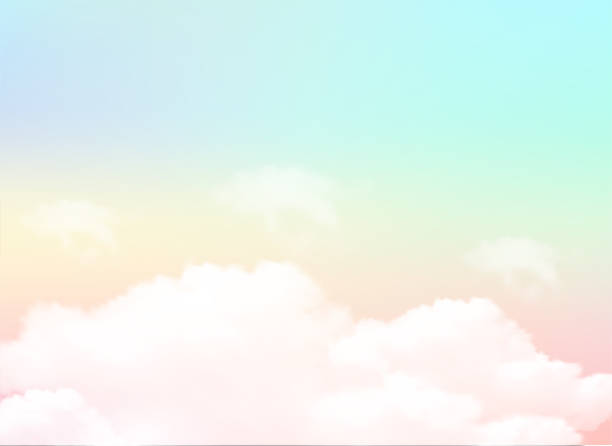 sky background and pastel color. EPS 10 sky background and pastel color. EPS 10 heaven stock illustrations
