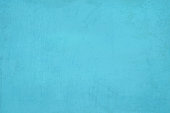 Horizontal bright light blue coloured cracked effect wall texture vector background . Paper texture. Cracked, crumpled look. Rectangular grunge background. No text, No people. Copy space. Plain. Blotched surface. Stained look. Paint brush stroke wall effect