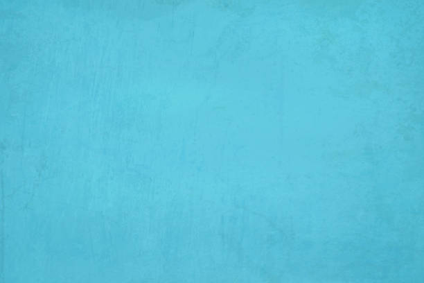 Sky blue, aqua blue colored cracked effect bright wall texture vector background- horizontal Horizontal bright light blue coloured cracked effect wall texture vector background . Paper texture. Cracked, crumpled look. Rectangular grunge background. No text, No people. Copy space. Plain. Blotched surface. Stained look. Paint brush stroke wall effect turquoise colored stock illustrations