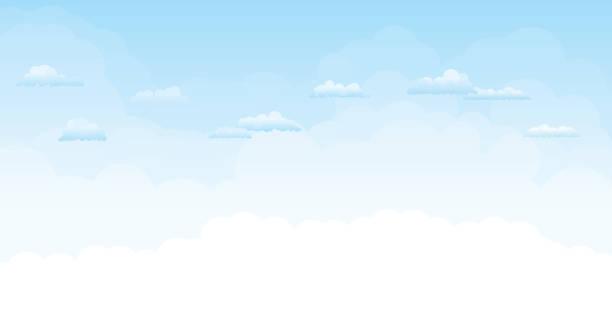 Sky Sky. cloud sky stock illustrations