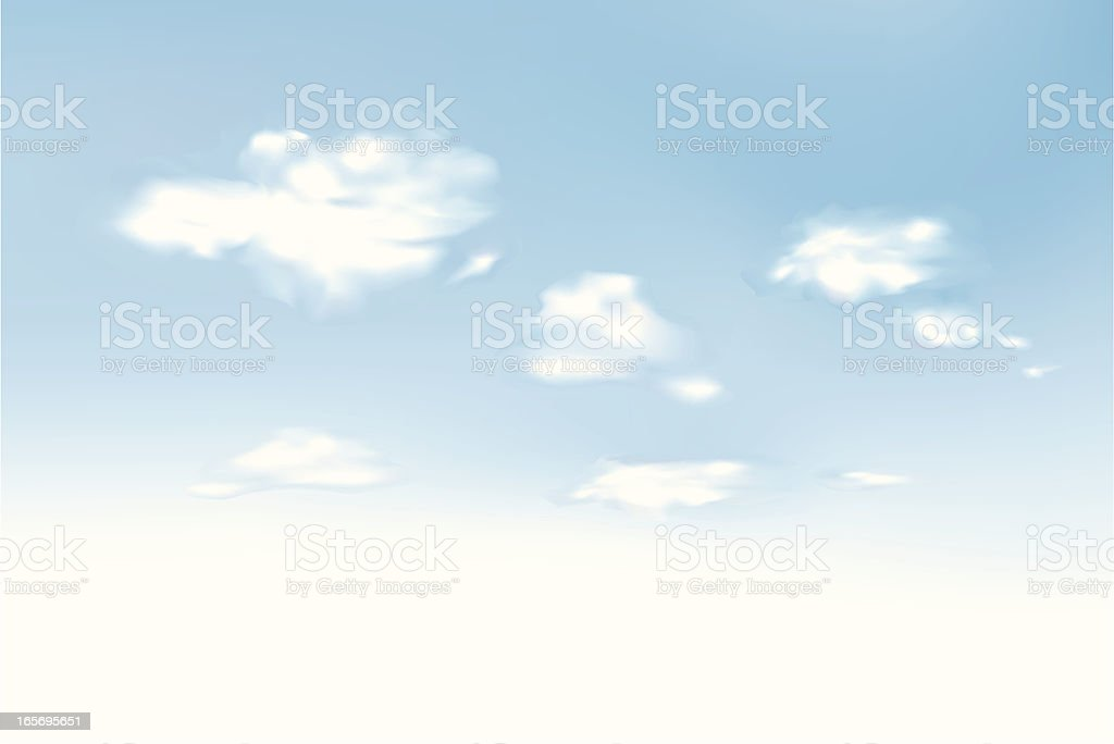 Sky royalty-free stock vector art
