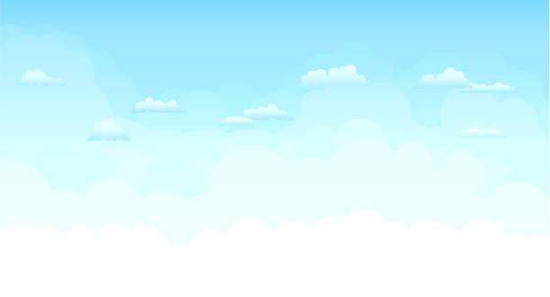 天空 - sky 幅插畫檔、美工圖案、卡通及圖標