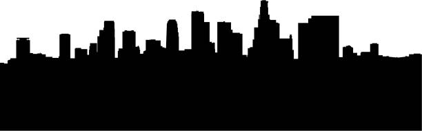 la skyline vector art illustration
