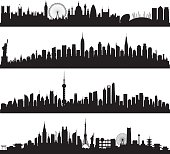 Skylines (All Buildings Are Complete and Moveable)