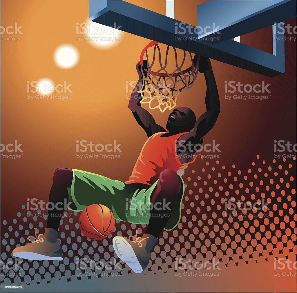 Slam Dunk 3 vector art illustration