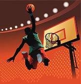 Slam Dunk at Basketball