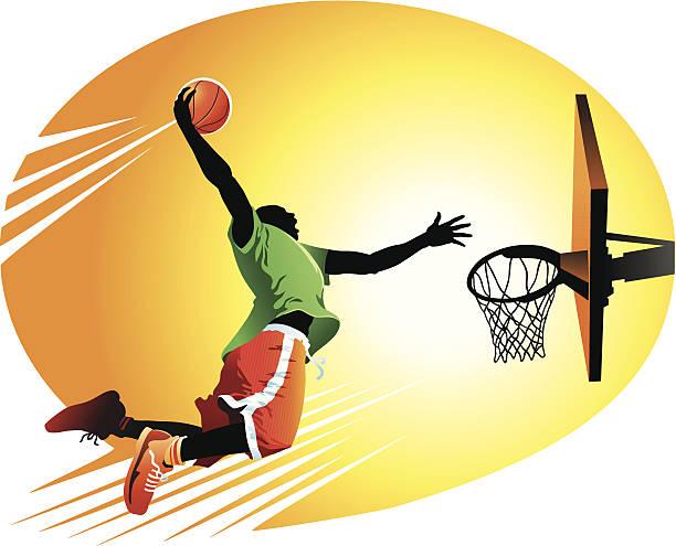 Slam Dunk Clip Art, Vector Images - 45.7KB