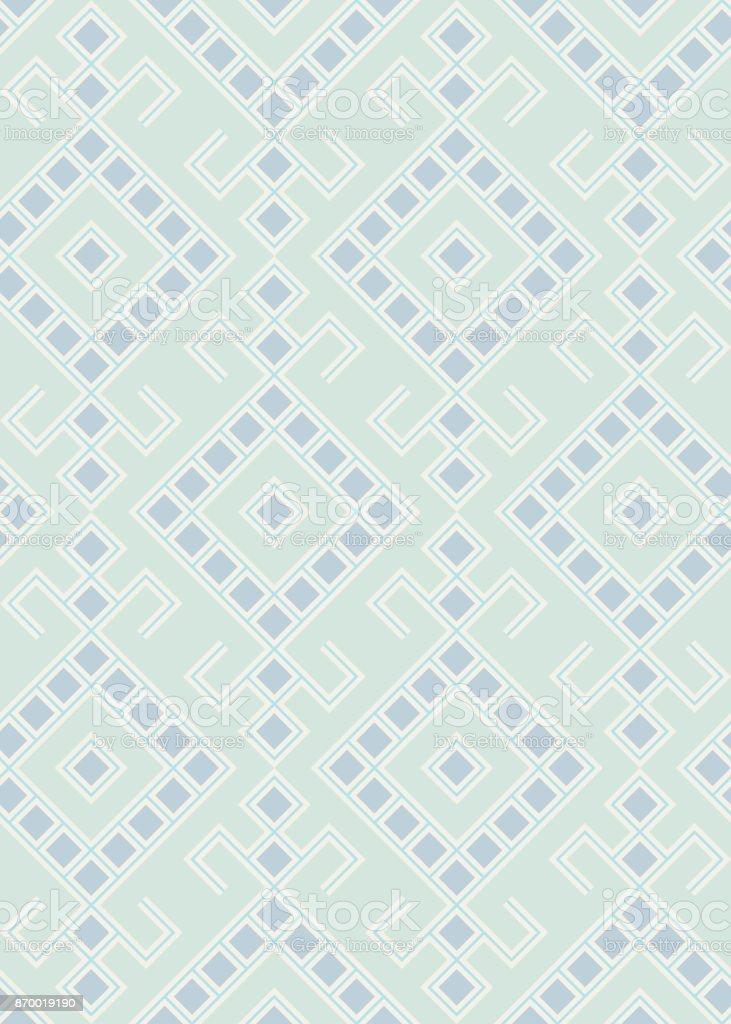 Slavic Pattern vector art illustration