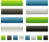Sleek Web Button Elements