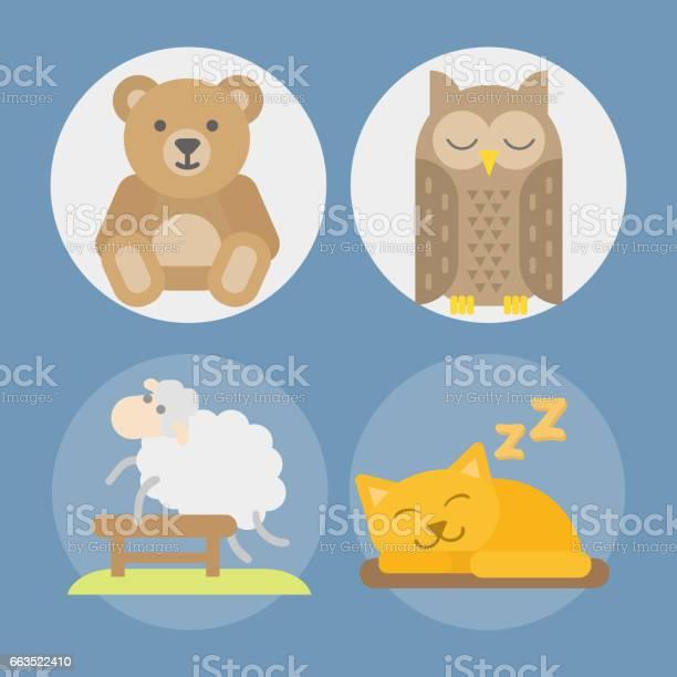 Sleep animals icon vector illustration gift toy teddy bear sleeping vector id663522410?b=1&k=6&m=663522410&s=612x612&h=7lucnqa hbw5ya4rmeypyub6x9zjpiye9vj2t6s4mjk=
