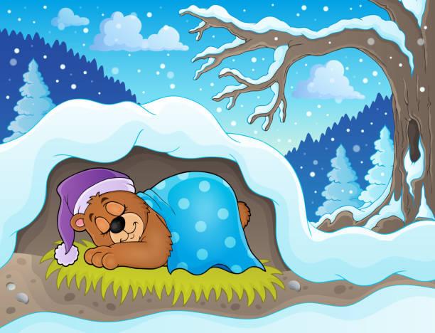 best bear cave illustrations royalty free vector graphics. Black Bedroom Furniture Sets. Home Design Ideas