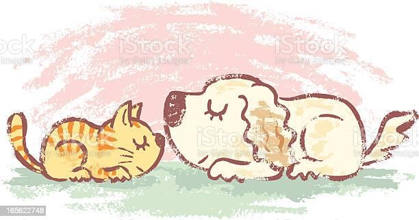 Sleeping kitten and puppy vector id165622748?b=1&k=6&m=165622748&s=612x612&h=jdva8qrr9khttpytir7ewbstkewcw mfuoss6rza3yu=