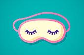 istock Sleeping Mask Flat 2 1224593252