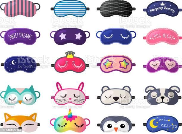 Sleeping mask funny clothes for sleepover rest relax night vector vector id1205968299?b=1&k=6&m=1205968299&s=612x612&h=q76al2j2 ca4xsl7t8mqkzmxe mvtvcvc qd3ycnyis=
