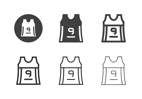 Sleeveless Sport T-Shirt Icons - Multi Series