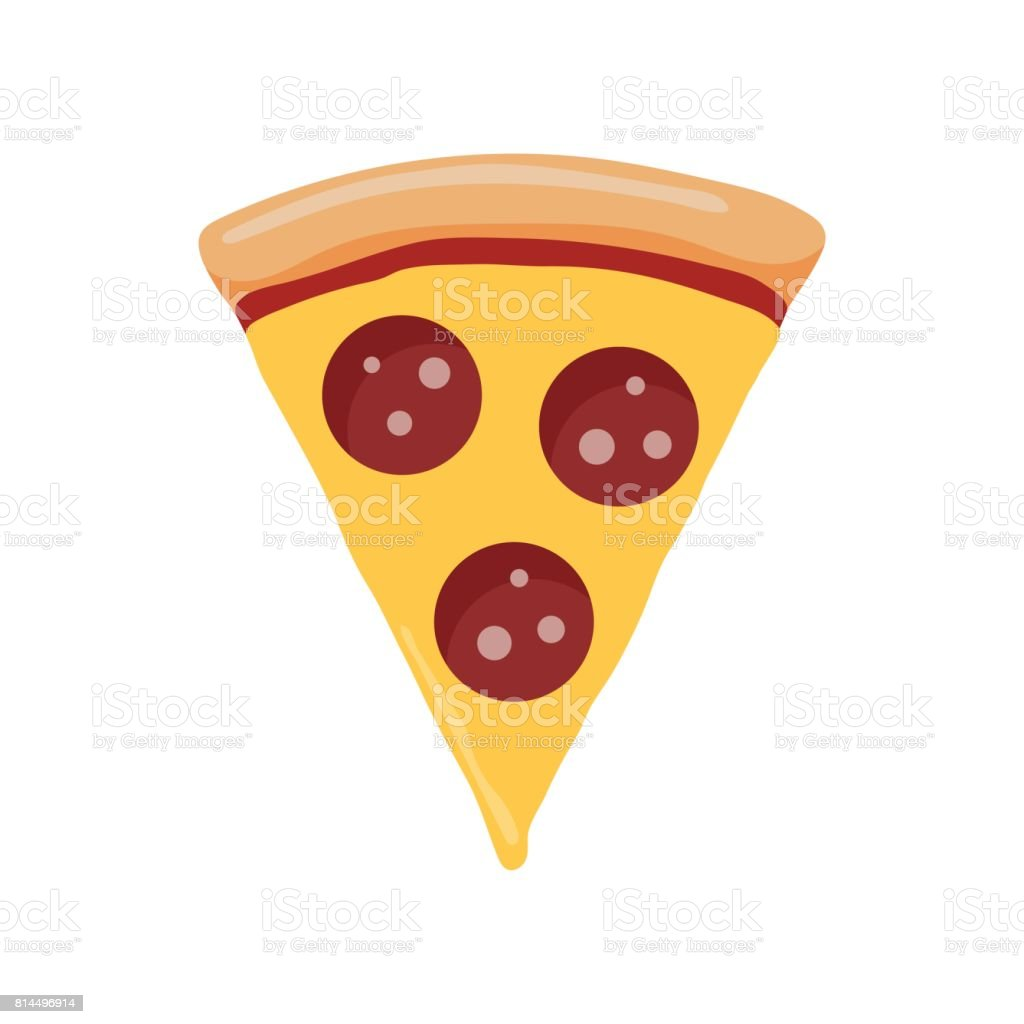 royalty free pepperoni pizza clip art vector images illustrations rh istockphoto com pepperoni pizza clipart black and white