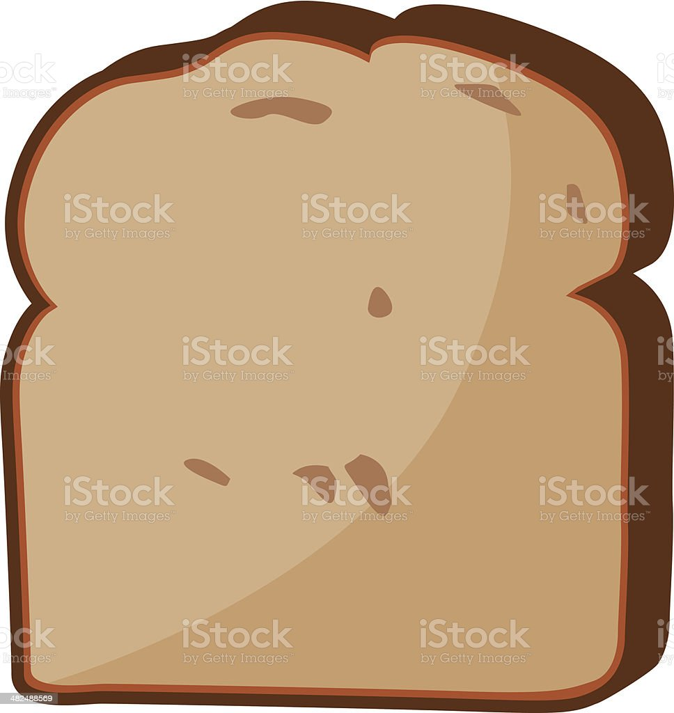 royalty free slice of bread clip art vector images illustrations rh istockphoto com 2 slices of bread clipart slice of bread clipart