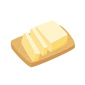 Sliced Margarine block