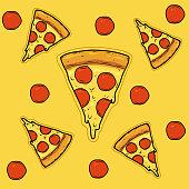 istock Sliced pizza 1219854163