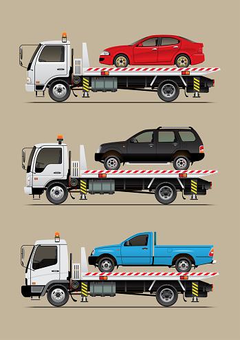 sliding tow truck