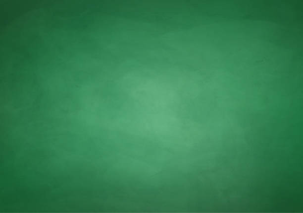 stockillustraties, clipart, cartoons en iconen met a slightly scratched blank green chalkboard background - groene kleuren