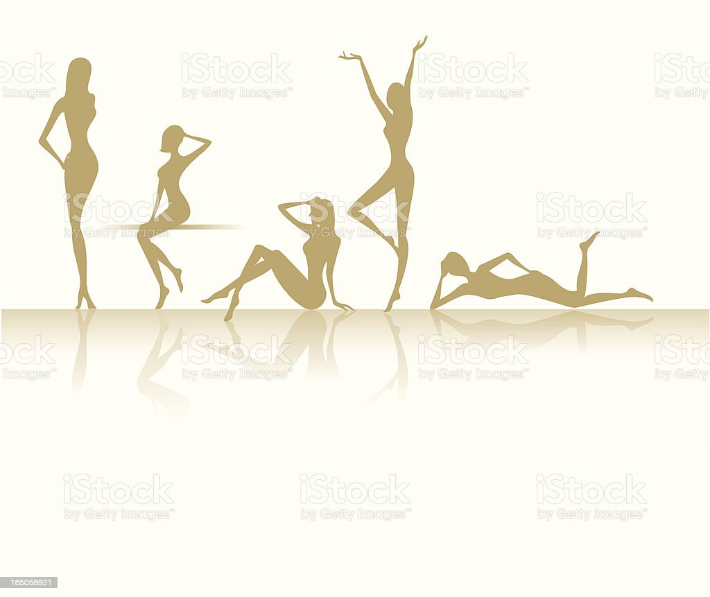 slim and sexy figure royalty-free slim and sexy figure stock vector art & more images of adulation