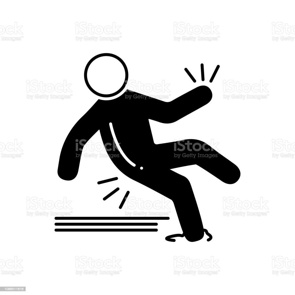 Joven vallisoletana sufre un resbalón en la escalera del Trompicón