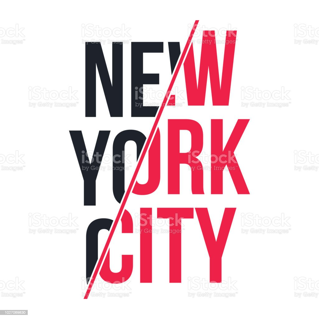 Slogan Graphic For Tshirt Print Tshirt Design With Slogan New York
