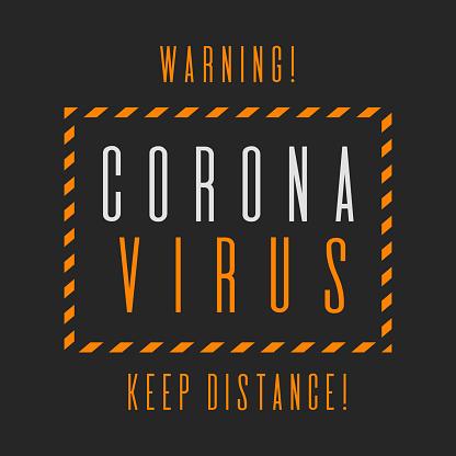 COVID19 slogan quote, pandemic funny vector design