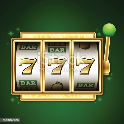 istock Slot Machine Jackpot 496950180