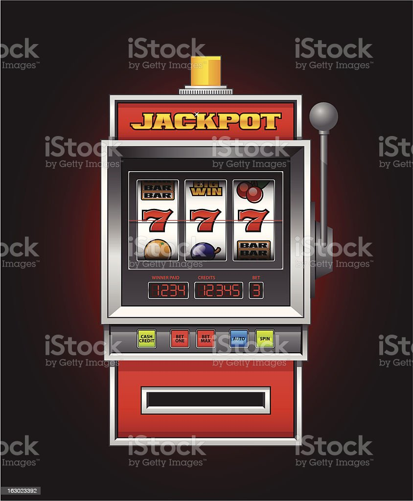 Slot machine royalty-free slot machine stock vector art & more images of casino