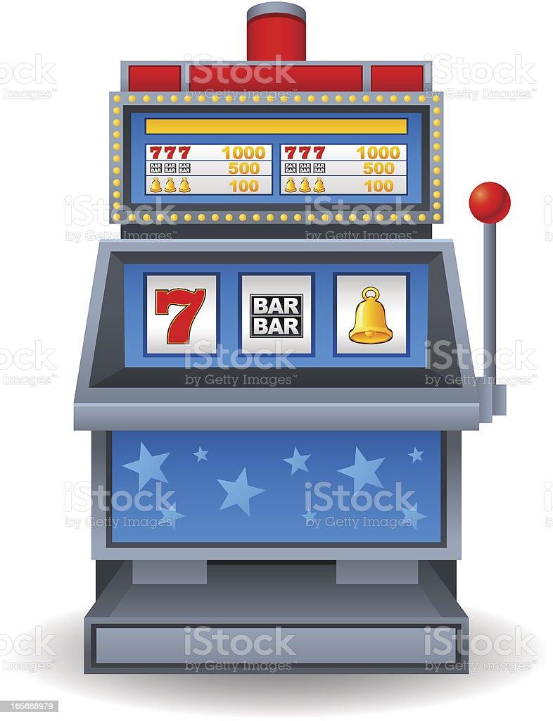 Slot machine vector graphics
