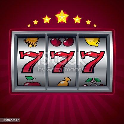 istock Slot machine 165920447