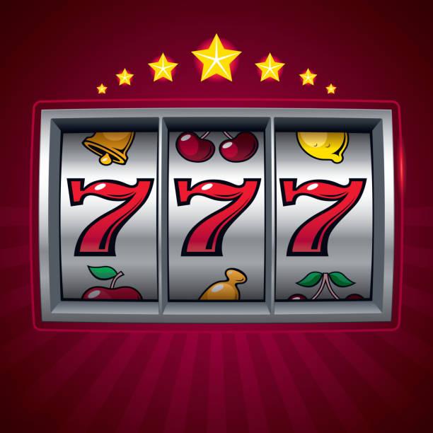 ilustrações de stock, clip art, desenhos animados e ícones de máquina de casino - enjoying wealthy life