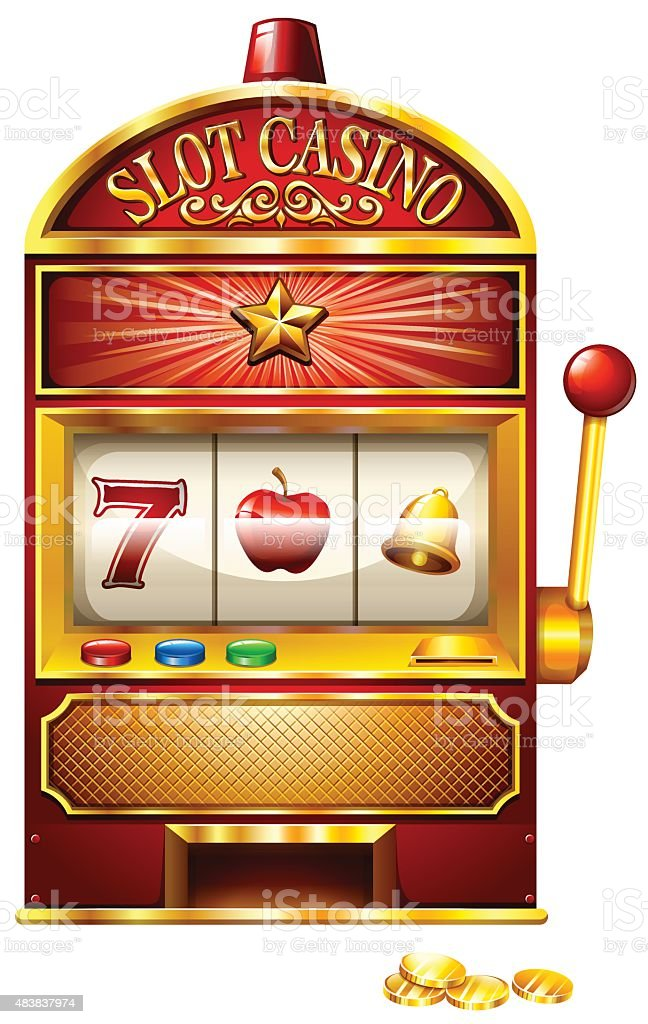 royalty free slot machine clip art vector images illustrations rh istockphoto com slot machine handle clip art slot machine cartoon clip art