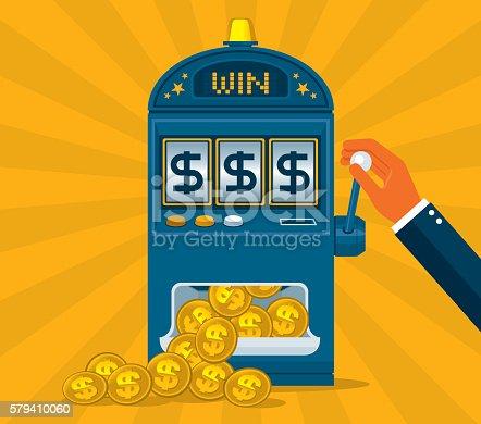 istock Slot Machine 579410060