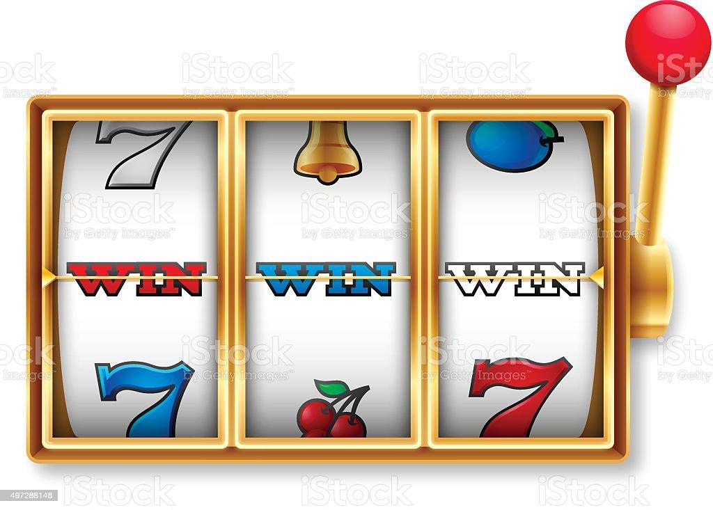 royalty free slot machine clip art vector images illustrations rh istockphoto com slot machine clip art images slot machine clip art black and white