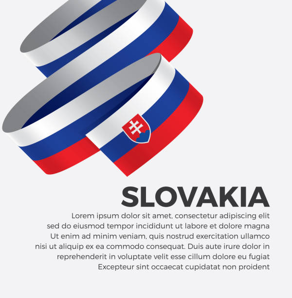 Royalty Free Flag Of Slovakia Clip Art, Vector Images ...