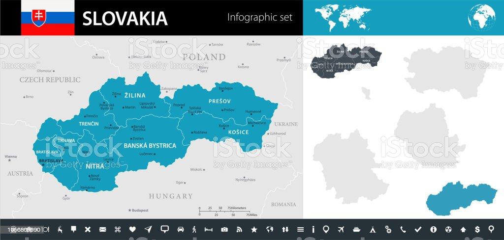 08 - Slovakia - Murena Infographic 10 vector art illustration