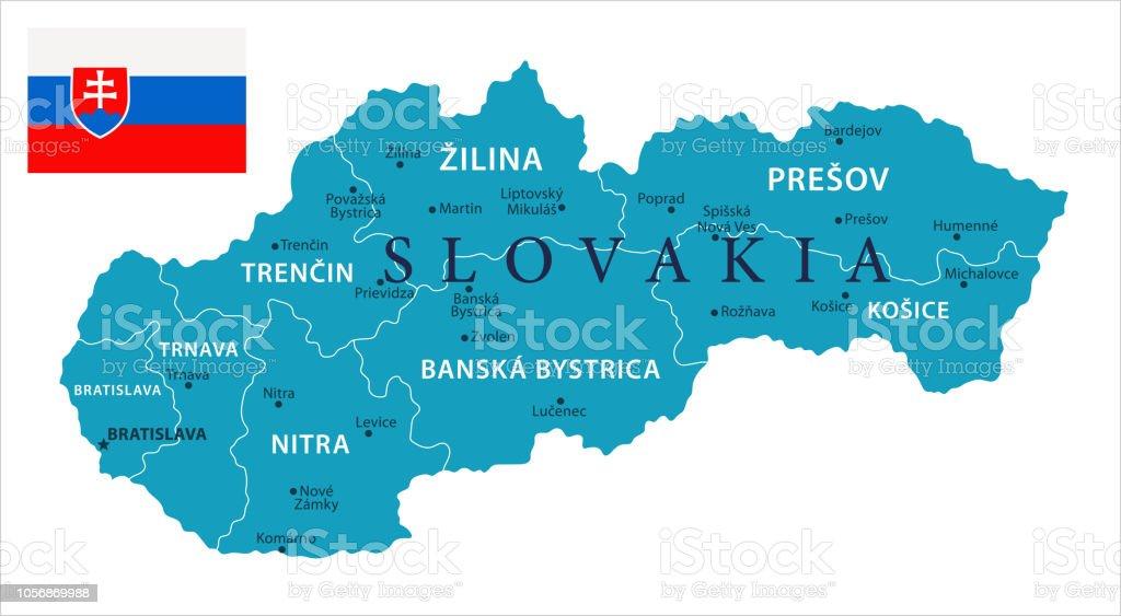 11 - Slovakia - Murena Isolated 10 vector art illustration