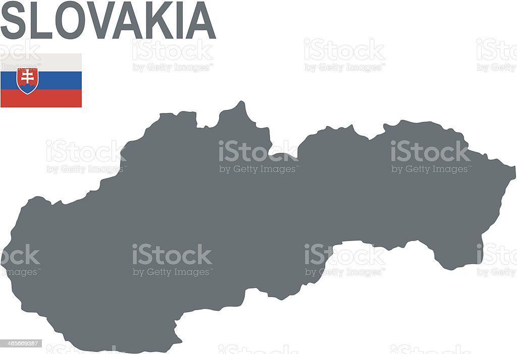 Slovakia royalty-free slovakia stock vector art & more images of central europe