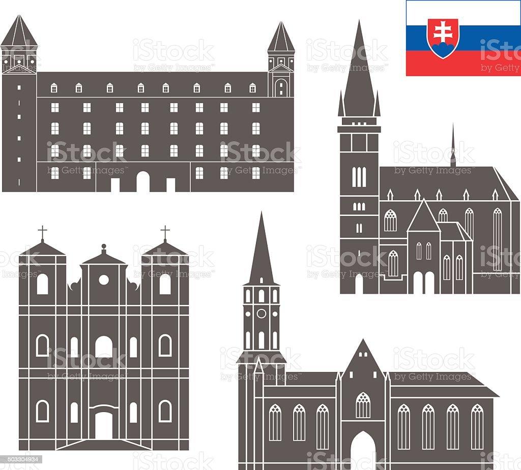 Slovakia vector art illustration